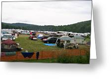 Camp Out Greeting Card