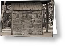 Camp Randall Stockade - Madison Wisconsin Greeting Card