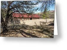 Camp Rucker Barn 2 Greeting Card