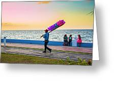 Campeche Colors Greeting Card