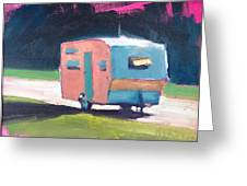 Camped Out Greeting Card