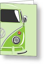 Camper Green 2 Greeting Card by Michael Tompsett