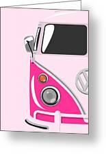 Camper Pink Greeting Card