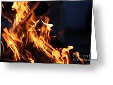 Campfire 2 Greeting Card