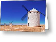 Campo De Criptana Greeting Card