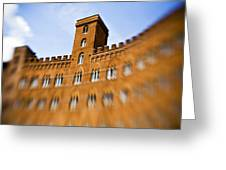 Campo Of Siena Tuscany Italy Greeting Card