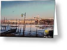 Campo Sallute Venice Greeting Card