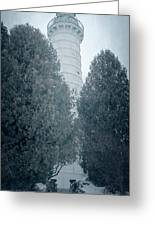 Cana Island Lighthouse Wisconsin Greeting Card