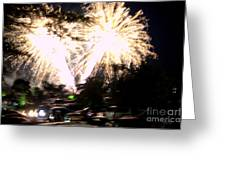 Canada Day 150 Lights 2 Greeting Card