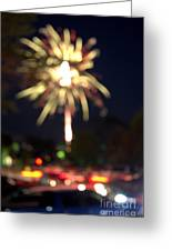 Canada Day 150 Lights 4 Greeting Card