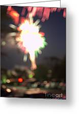 Canada Day 150 Lights 5 Greeting Card