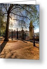 Canada Gate Green Park London Greeting Card