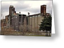 Canada Malting Plant 2 Greeting Card