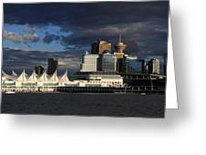 Canada Place Vancouver City Greeting Card
