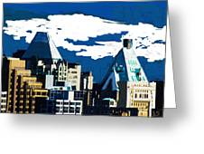 Canada Towers Greeting Card