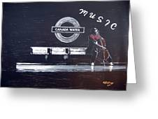 Canada Water Music Greeting Card