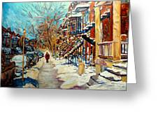Canadian Art And Canadian Artists Greeting Card