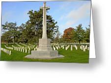 Canadian Cross Of Sacrifice Greeting Card