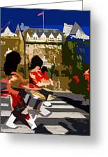 Canadian Drummers Greeting Card