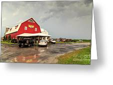Canadian Farm After Storm Greeting Card