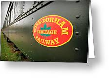 Canadian Heritage Train Greeting Card