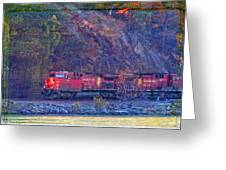 Canadian Pacific Reds Greeting Card