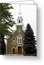 Canadian Rural Church Greeting Card