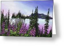 Canadian Sunrise Greeting Card