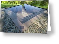 Canadian War Memorial Green Park London Greeting Card