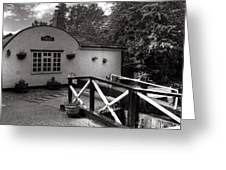 Canal Cottage Greeting Card