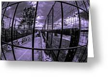 Canal De Lachine Underpass  Greeting Card