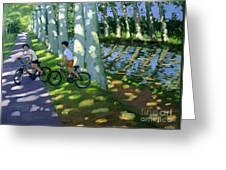 Canal Du Midi France Greeting Card