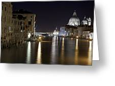 Canal Grande - Venice Greeting Card