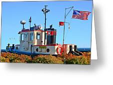 Canal Park Dry Dock Greeting Card