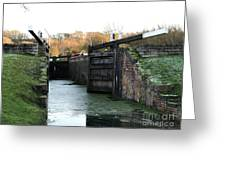 Canal Rocks Greeting Card