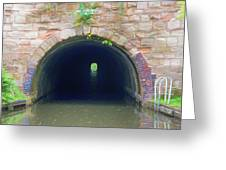 Canal Tunnel 3 Greeting Card