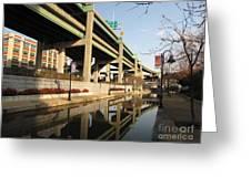 Richmond Canal Walk Through Shockoe Bottom Greeting Card