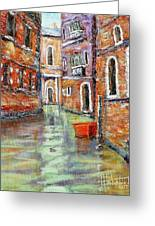 Canale Veneziano Greeting Card
