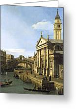 Canaletto Greeting Card