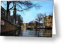 Canals Of Amsterdam IIi Greeting Card