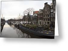Canals Of Jordaan Greeting Card