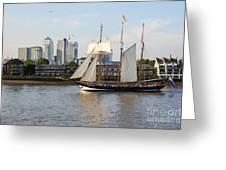 Canary Wharf 5 Greeting Card