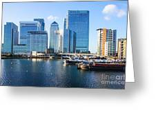 Canary Wharf 9 Greeting Card