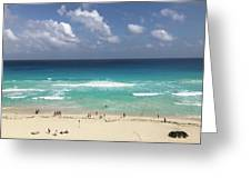 The Best View Of The Beach Greeting Card