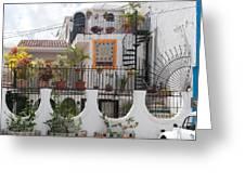 Cancun City Scenes Greeting Card