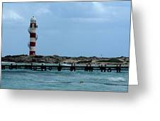 Cancun Lighthouse Greeting Card