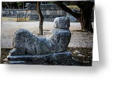 Cancun Mexico - Chichen Itza - Mayachacmool Greeting Card