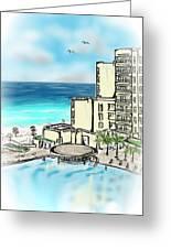 Cancun Royal Sands Greeting Card
