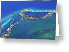 Cancun Wide By Air Greeting Card