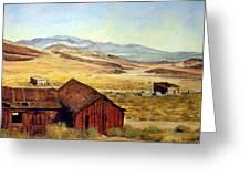 Canderia Nevada Greeting Card by Evelyne Boynton Grierson